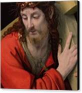 Christ Carrying The Cross Canvas Print by Andrea Solario