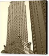 Chrysler Building Canvas Print by Debbi Granruth