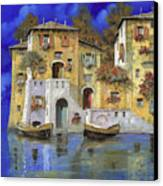 Cieloblu Canvas Print by Guido Borelli