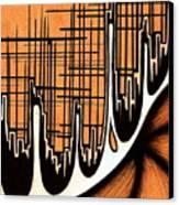 Cityscape One Canvas Print by Jeff DOttavio