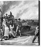 Civil War: Martial Law Canvas Print by Granger