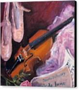 Clair De Lune Canvas Print by B Rossitto