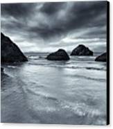 Clearing Storm Canvas Print by Mike  Dawson