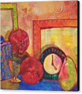 Clock Work Canvas Print by Blenda Studio