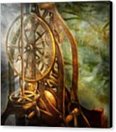 Clockmaker - The Day Time Stood Still  Canvas Print by Mike Savad