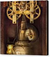 Clockmaker - The Mechanism  Canvas Print by Mike Savad