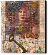 Clockworks Canvas Print by Ernestine Grindal