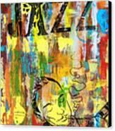 Club De Jazz Canvas Print by Sean Hagan