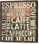 Coffee Of The Day 2 Canvas Print by Debbie DeWitt