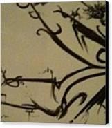 coffeetripnumberB Canvas Print by TripsInInk