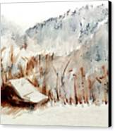 Cold Cove Canvas Print by Seth Weaver