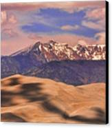 Colorado's Great Sand Dunes Shadow Of The Clouds Canvas Print by James BO  Insogna