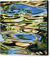 Colorful Water Ripples Canvas Print by Dave Fleetham - Printscapes