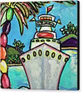 Colors Of Cruising Canvas Print by Patti Schermerhorn