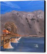 Columbia Crossing Canvas Print by Christopher Jenkins
