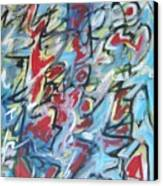 Composition No 7 Canvas Print by Michael Henderson