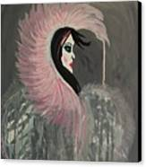 Concrete Angel Canvas Print by LKB Art and Photography