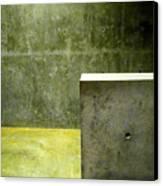 Concrete Canvas Print by Slade Roberts