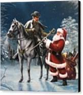 Confederate Christmas Canvas Print by Dan  Nance