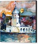 Constantinople Turkey Canvas Print by Mindy Newman