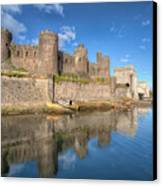 Conwy Castle Canvas Print by Adrian Evans