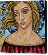 Corine Canvas Print by Rain Ririn