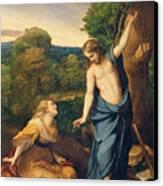 Correggio Canvas Print by Noli Me Tangere