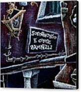 Corte Zambelli - Contemporary Venetian Artist Canvas Print by Arte Venezia