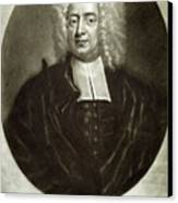 Cotton Mather 1663-1728 Canvas Print by Granger