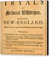 Cotton Mather, 1693 Canvas Print by Granger