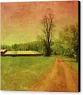 Country Living - Bayonet Farm Canvas Print by Angie Tirado