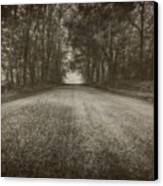 Country Road Canvas Print by Everet Regal