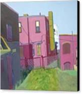 Courtyard View Canvas Print by Debra Robinson