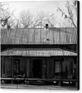 Cracker Cabin Canvas Print by David Lee Thompson