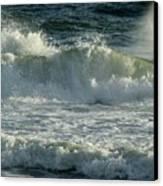 Crashing Wave Canvas Print by Sandy Keeton