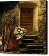 Croatian Stone House Canvas Print by Don Wolf