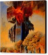 Cross Of The Third Millennium Canvas Print by Henryk Gorecki