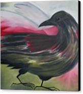 Crow Canvas Print by Karen MacKenzie