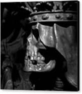 Crowned Death II Canvas Print by Marc Huebner