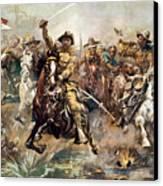 Cuba: Rough Riders, 1898 Canvas Print by Granger