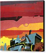 Cuban Poster, 1960s Canvas Print by Granger