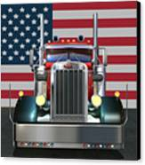Custom Peterbilt 2 Canvas Print by Stuart Swartz