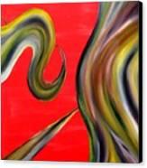 Cyfyc Canvas Print by Cyryn Fyrcyd