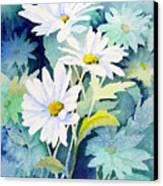 Daisies Canvas Print by Sam Sidders