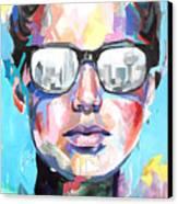 Dallas Canvas Print by Julia Pappas