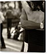 Dance With Me Canvas Print by Leslie Leda