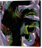 Dancer Canvas Print by Ron Bissett