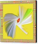 Dancing Flower Trio Canvas Print by Ben and Raisa Gertsberg