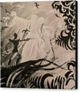 Dark And Light Canvas Print by Lisa Leeman