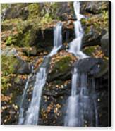 Dark Hollow Falls Shenandoah National Park Canvas Print by Pierre Leclerc Photography
